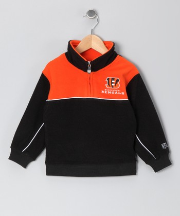 Cincinnati Bengals Fleece Pullover - Toddler