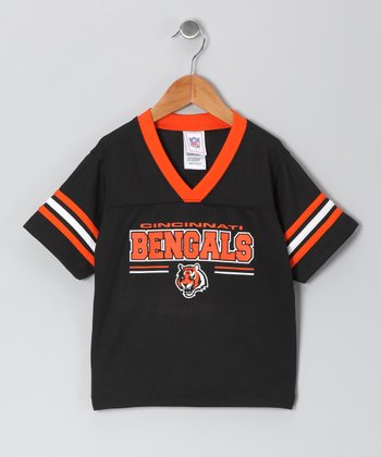 Cincinnati Bengals Black & Orange Jersey - Infant & Toddler