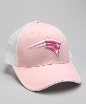 Pink New England Patriots Baseball Cap - Kids