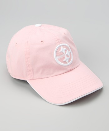 Pink Pittsburgh Steelers Baseball Cap - Kids