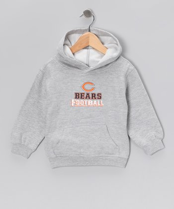 Heather Gray Chicago Bears Fleece Hoodie - Toddler