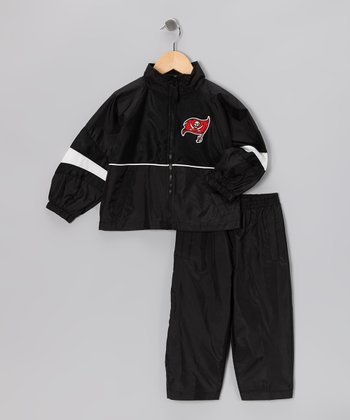 Black Tampa Bay Buccaneers Jacket & Pants - Toddler