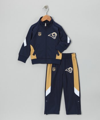 St. Louis Rams Track Jacket & Pants - Kids