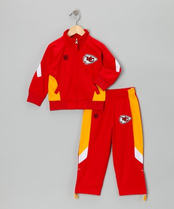 Kansas City Chiefs Track Jacket & Pants - Kids