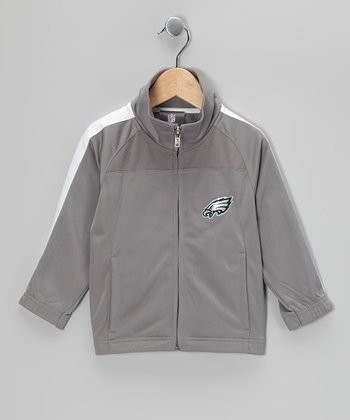 Philadelphia Eagles Track Jacket - Kids