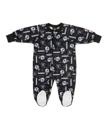 Oakland Raiders Footie - Toddler