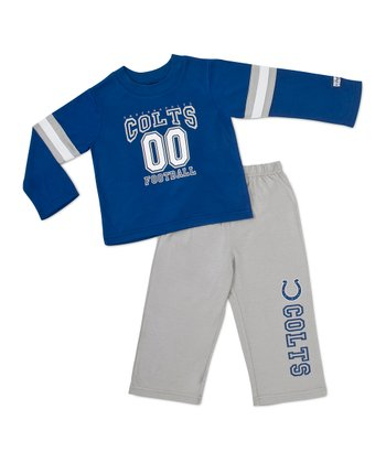 Blue Indianapolis Colts Tee & Pants - Toddler & Kids