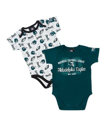 Philadelphia Eagles Bodysuit Set - Infant