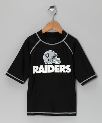 Oakland Raiders Rashguard - Kids