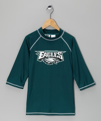 Philadelphia Eagles Rashguard - Kids