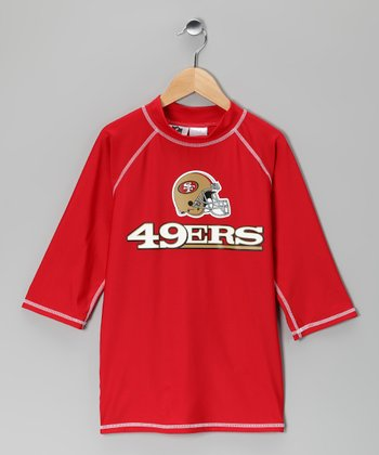 San Francisco 49ers Rashguard - Kids