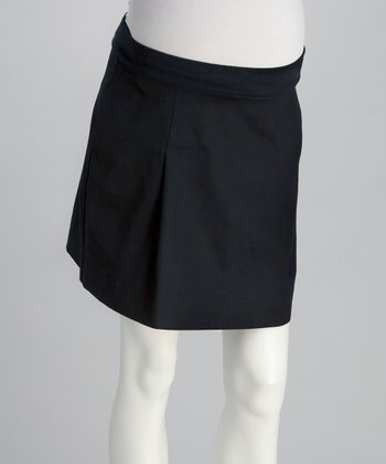 NOM Black Matilda Maternity Skirt