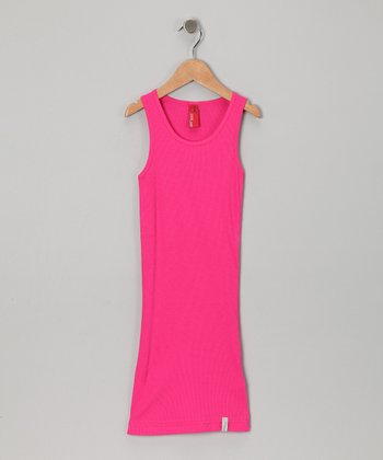 Pink Lina Dress - Girls