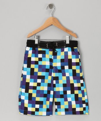 Blue Fredy Boardshorts - Boys