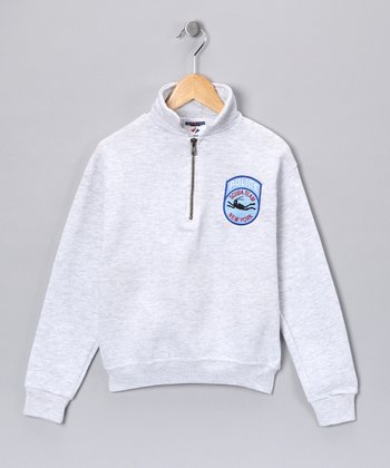 Gray Scuba Team Cadet Pullover - Kids