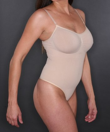 Nude Wireless Shaper Thong Bodysuit - Women & Plus
