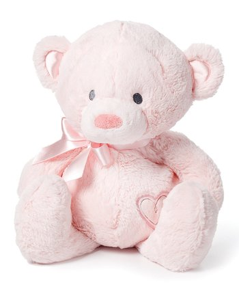 Medium Pink Bear Plush Toy