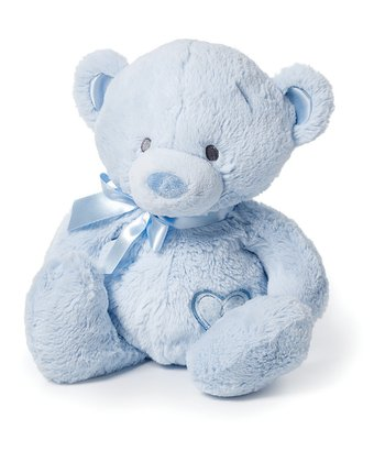 Medium Blue Bear Plush Toy