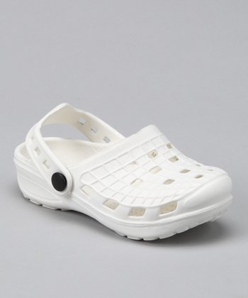 White Clog - Kids