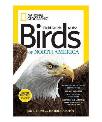 Sixth Edition Field Guide to Birds of North America Paperback