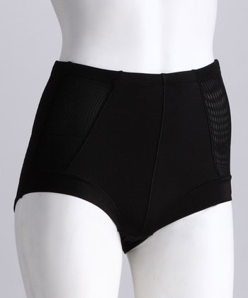 Black High-Waisted Shaper Briefs - Women & Plus