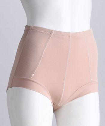 Nude High-Waisted Shaper Briefs - Women & Plus
