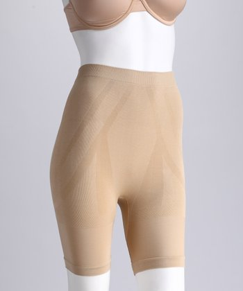 Nude Seamless Control Shaper Shorts - Women & Plus