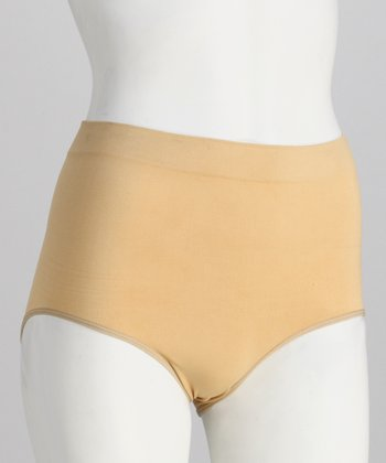 Nude Seamless Control Shaper Briefs - Women