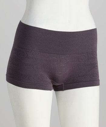 Shark 'Sexy' Seamless Control Shaper Boyshorts - Women