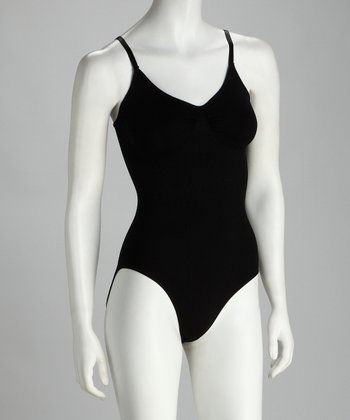 Black Seamless Shaper Bodysuit - Women & Plus