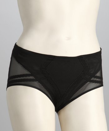 Black Enhancing Girdle Briefs - Women