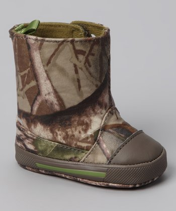 Brown Camo Lil Lawson Boot