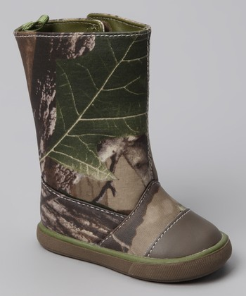 Brown Camo Lawson Boot