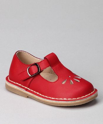 Red Kamdyn T-Strap Shoe