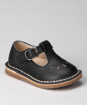 Black Kamdyn T-Strap Shoe