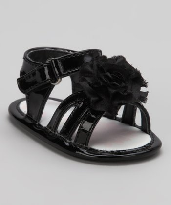 Black Lil Belle Sandal - Infant