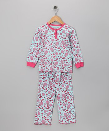 Candy Land Stella Organic Top & Bottoms - Toddler & Girls
