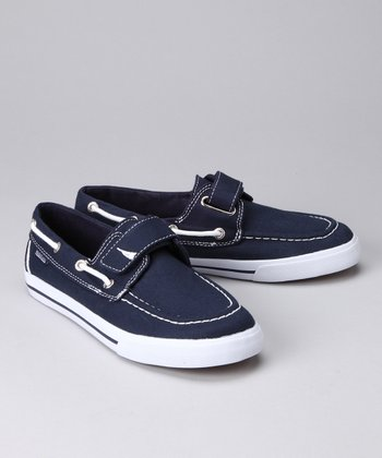 Nautica Navy Little River Boat Shoe