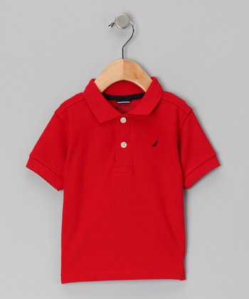 Cherry Polo - Toddler & Boys
