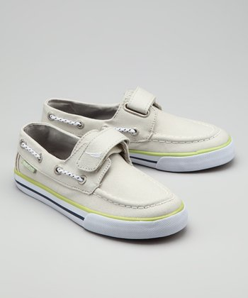 Nautica Gray Little River Boat Shoe