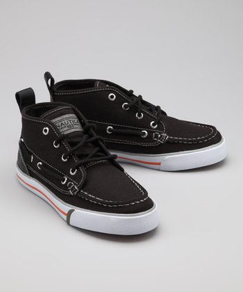 Nautica Black Del Mar Hi-Top Sneaker