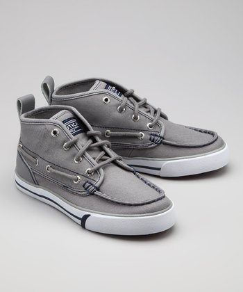 Nautica Gray Del Mar Hi-Top Sneaker