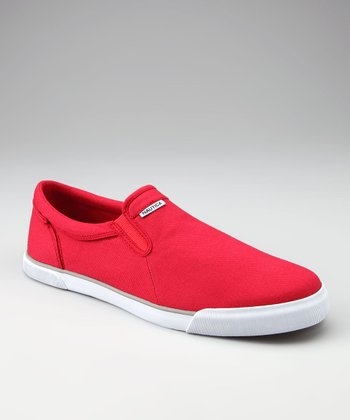 Red Venice Slip-On Sneaker - Men