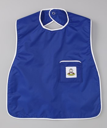 Royal Blue Slide Bib