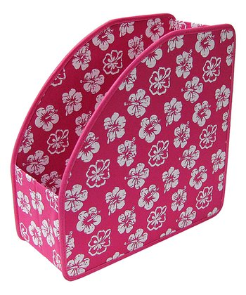 Hot Pink Tropical Extra-Large Stuff Cubby