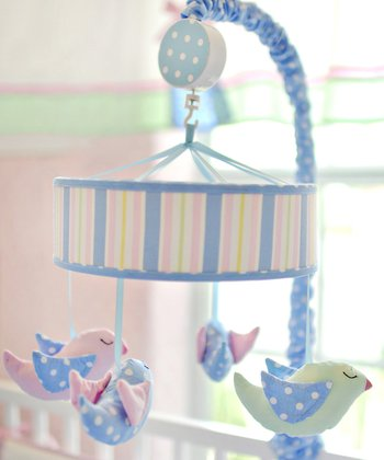 New Arrivals Pink & Blue Love Grows Here Mobile