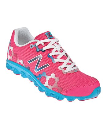 Diva Pink & Blue Grade School Minimus Ionix 3090 Running Shoe
