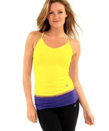 Primrose Yellow Seamless Camisole