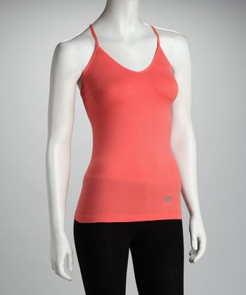 Coral Seamless Camisole