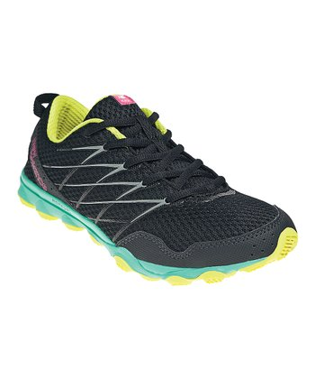 Black & Teal 330 Trail Running Shoe